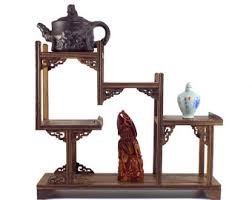 Wooden Display Stands For Figurines Chinese wood stand Etsy 35