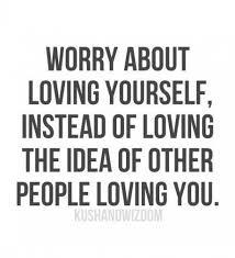 I Love Myself Quotes