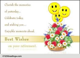 Retirement Wishes Quotes Beauteous Best Wishes For Retirement Free Retirement ECards Greeting Cards