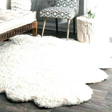 small faux fur rug faux sheepskin rug area white rugs fur large braided small cleaning faux