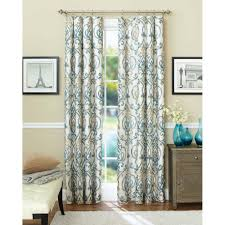 Curtains Better Homes And Gardens Ikat Scroll Curtain Panel Walmartcom