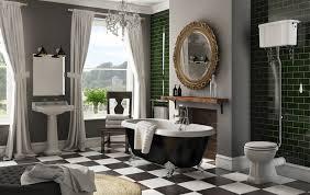 art deco bathroom. Vintage Chic Bathroom Art Deco V