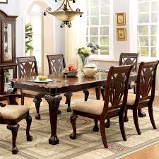 room delight in the formalities and start hosting grandiose dinner parties with the ranfort dining table dining table with chairsdining sets7