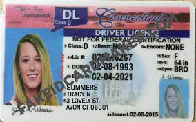 Driver's Fake License Virtual Connecticut Card - Maker Id