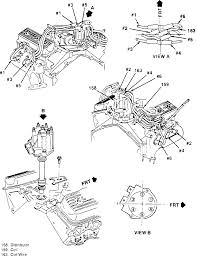chevy wiring diagram to distributor chevy 1992 chevy truck distributor cap spark plug wiring diagram on chevy 350 wiring diagram to distributor