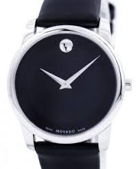 discount movado watches on for mens womens movado museum classic swiss made quartz 0606502 mens watch