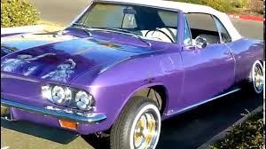 Lowrider Chevy Corvair - YouTube