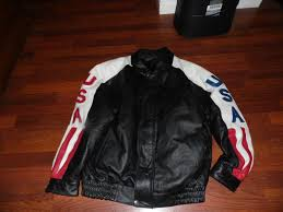 oscar piel usa leather jacket medium m us 25 00