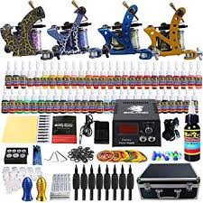 Solong Tattoo Complete Tattoo Kit 4 Pro Machine ... - Amazon.com