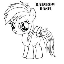 my little pony coloring pages page rainbow dash via twilight filly