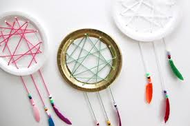 Dream Catcher Party Plates Simple Easy Paper Plate Dream Catcher Tutorial Smashed Peas Carrots