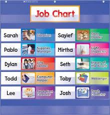 Classroom Helpers Pocket Chart Class Job Pocket Chart Classroom Essentials Scholastic Canada
