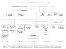 Organizational Chart With Description Organizational Structure Flow Charts