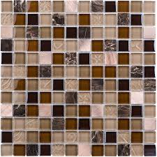 elida ceramica c light uniform squares mosaic glass metal stone marble wall tile