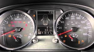 Nissan Rogue 2019 Dash Lights 2014 Nissan Rogue Select Warning And Indicator Lights
