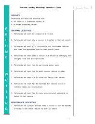 Awesome Facilitator Resume Cover Letter Ideas Example Resume