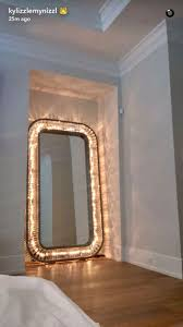 home accessory mirror home decor light kylie jenner lights