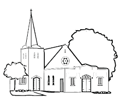 Free Printable Religious Coloring Pages For Adults Easter Church