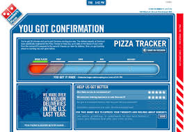 Dominos Chart Dominos Pizza Tracker Process A Behind The Scenes Look
