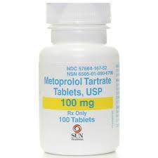 metoprolol tartrate 100 mg 100 tablets
