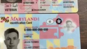 Mva New Maryland Unveils Ids Licenses