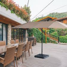15ft large size patio umbrella outdoor
