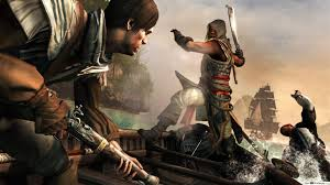 creed iv black flag hd wallpaper