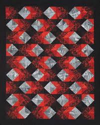 393 best NEWSPAPER QUILTS images on Pinterest | Patterns, Projects ... & The design is made from two blocks that use only one shape - a half square  triangle.Probably pinned this before but find it intriguing. Adamdwight.com