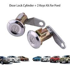 car door lock cylinder. 2Pcs Car Door Lock Cylinder Set With 2 Keys For Ford 1988-1991 Mercury 1990 Car Door Lock Cylinder 4