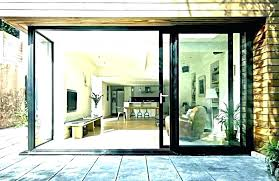 accordion glass patio doors collapsible door folding french slide and style exterior bi fold co cost