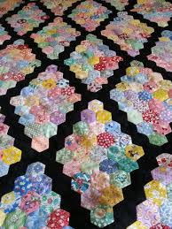 1932 best Hexagon quilting images on Pinterest | Patterns, Baskets ... & Hexagon UFO quilt top, Martha Washington setting I believe. Made by Camille  F. Adamdwight.com
