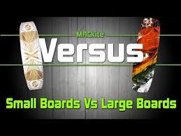 Kiteboards Small Vs Large Versus Ep 08 Mackiteboarding Com