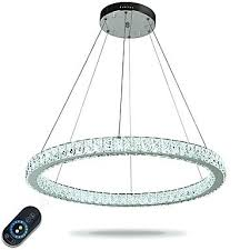 5 ring led chandelier ceiling pendant lights modern chandeliers lighting indoor light lamp with remote control