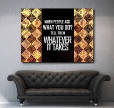 inspirational artwork for office. When People Ask Ever Takes Motivational Inspirational Office Wall Art Stay Humble Hustle Hard Canvas Wooden Frame Ready Hang French Design The Red Big Artwork For E