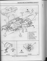 1994 chevy silverado truck 5 7 l engine heater problems sounds like a blocked heater core take both hoses loose get a water hose some pressure try to unblock it be the temp actuator in the diagram