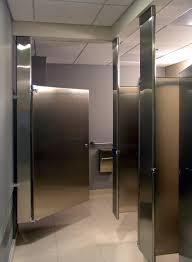 bathroom stall partitions. Modern Stainless Steel Bathroom Stalls To Set As Partitions : Casual Ceiling Tile Model For Stall