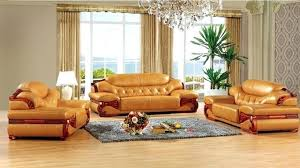 Leather Sofa Set For Living Room Antique  Made In China Sectional Antique Leather Sofa O77