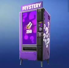 First Vending Machine 215 Bc Classy Mystery Vending Machine FortNiteBR