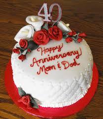 Parents Anniversary Cakes