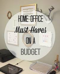 budget friendly home offices. home office must haves on a budget friendly offices
