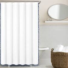 Echelon Home Tassel Shower Curtain - Free Shipping Today - Overstock.com -  18140607