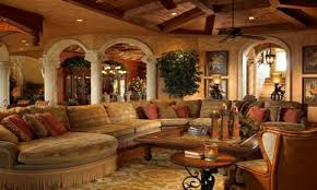 Mediterranean Decor Living Room Extraordinary Mediterranean Home Interior Design With Tuscan