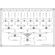 Blank Family Tree Template Free Premium Template Simple Family Tree Templates Download Free Premium 5 Generation