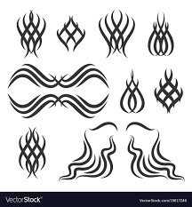 Simple Tribal Tattoo Elements