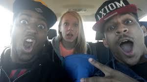 Black guy white teen