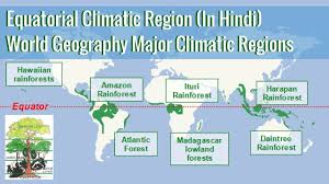 World Climate Zone Chart Equatorial Climatic Region World Geography Major Climatic Regions In Hindi