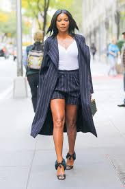 Fashion Celebrity Style Gabrielle Union Celebrity Shoes Style Jimmy Choo Giuseppe Zanotti