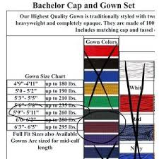 Herff Jones Size Chart Maroon Graduation Cap And Gown Set