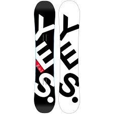 Yes Snowboard Size Chart Yes Basic Snowboard 2018