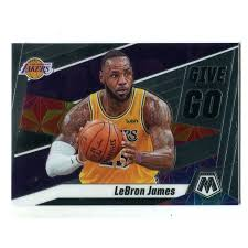 Lebron james made his nba debut for the cleveland cavaliers in 2003. Lebron James 2020 Panini Mosaic Give And Go 8 Card